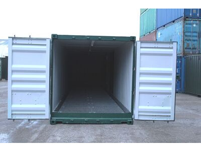 SHIPPING CONTAINERS 15ft once used Hawk H15