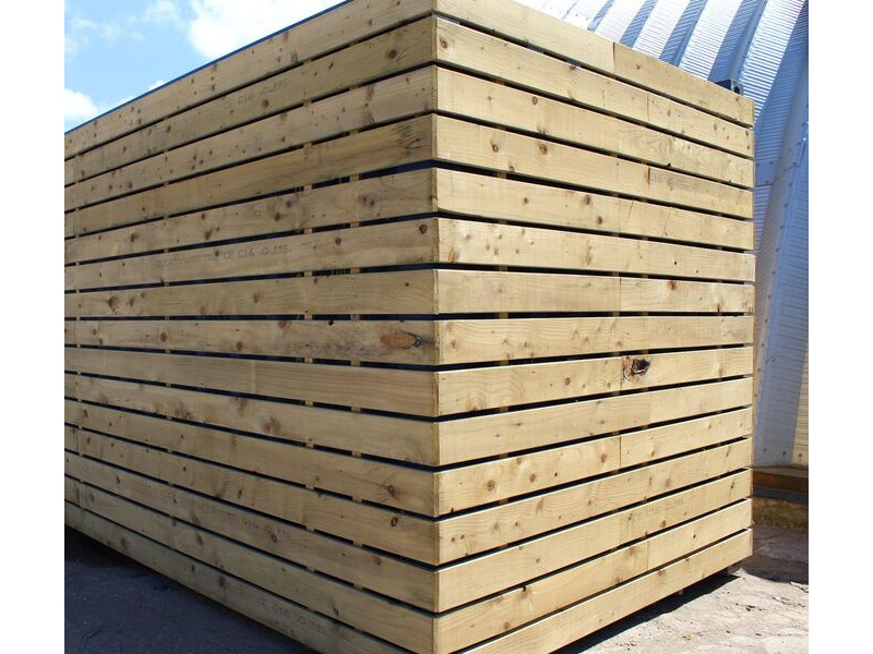 SHIPPING CONTAINERS 15ft once used cladded container - Clean Cut CLO15 click to zoom image