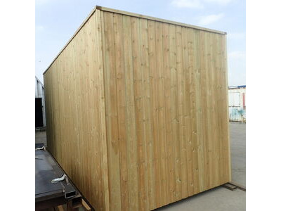 SHIPPING CONTAINERS 15ft once used cladded container - Seamless Shiplap CLO15