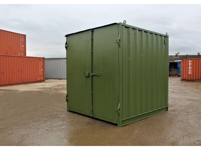 SHIPPING CONTAINERS 8ft S1 doors
