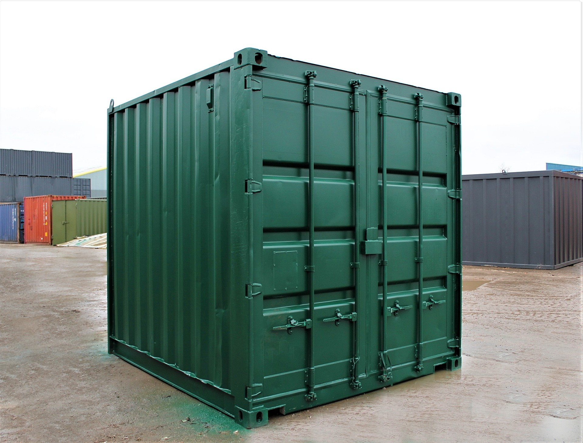 SHIPPING CONTAINERS 8ft S2   £1195.00   5ft to 10ft ...