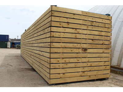 SHIPPING CONTAINERS 20ft used cladded container - Clean Cut CLU20
