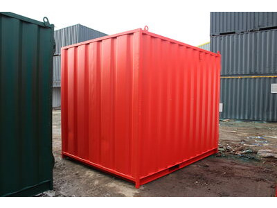 SHIPPING CONTAINERS 12ft S1 doors click to zoom image
