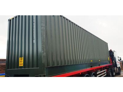 SHIPPING CONTAINERS 40ft high cube, full side access SA40 click to zoom image