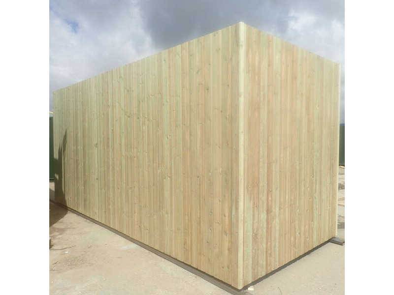 SHIPPING CONTAINERS 25ft used cladded container - Seamless Shiplap CLU25 click to zoom image