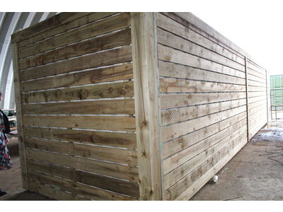 SHIPPING CONTAINERS 40ft used cladded container - Classic Rustic CLU40