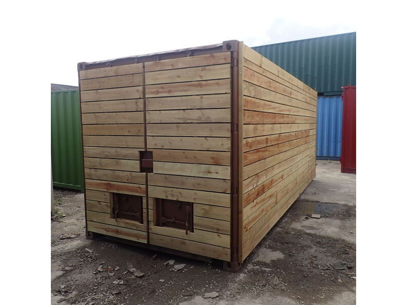 SHIPPING CONTAINERS 25ft used cladded container - Clean Cut CLU25 click to zoom image
