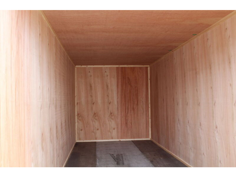SHIPPING CONTAINERS 20ft once used ply lined container PO920 click to zoom image