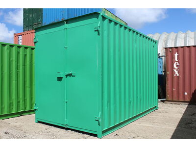 SHIPPING CONTAINERS 14ft S1 doors high cube HL22