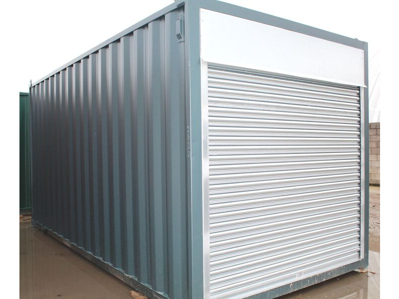 SHIPPING CONTAINERS 12 - S4 doors click to zoom image