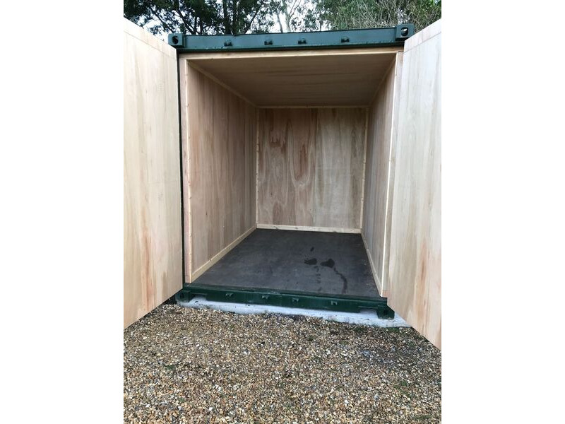 SHIPPING CONTAINERS 12ft S2 high cube, ply lined click to zoom image