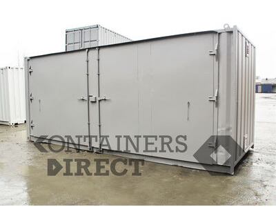SHIPPING CONTAINERS 20ft extra wide side doors SD20W