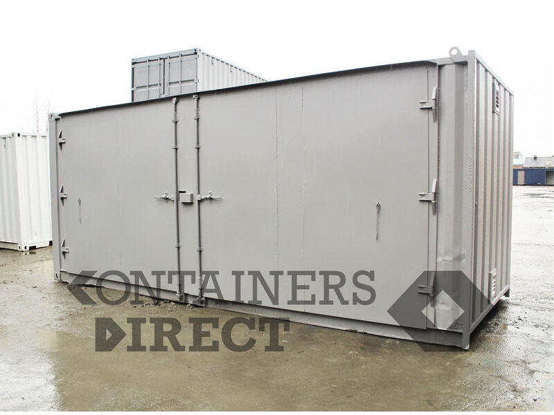 SHIPPING CONTAINERS 20ft extra wide side doors SD20W click to zoom image