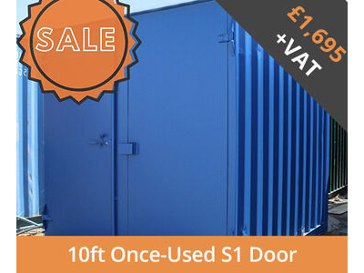 SHIPPING CONTAINERS 10ft S1 doors HL10S101