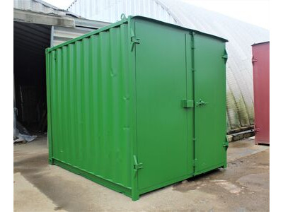 SHIPPING CONTAINERS 10ft S1 doors HL10S108 click to zoom image