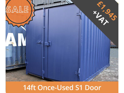SHIPPING CONTAINERS 14ft S1 doors HL14S101