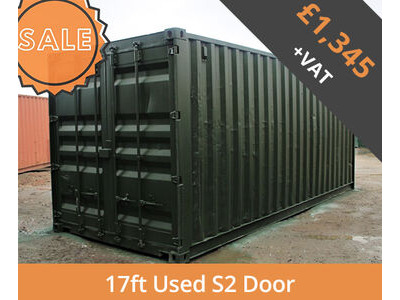 SHIPPING CONTAINERS 17ft S2 doors HL17S202