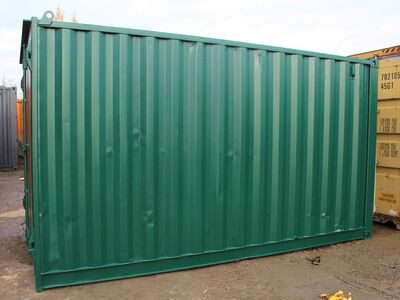 SHIPPING CONTAINERS 14ft S1 doors HL14S103 click to zoom image