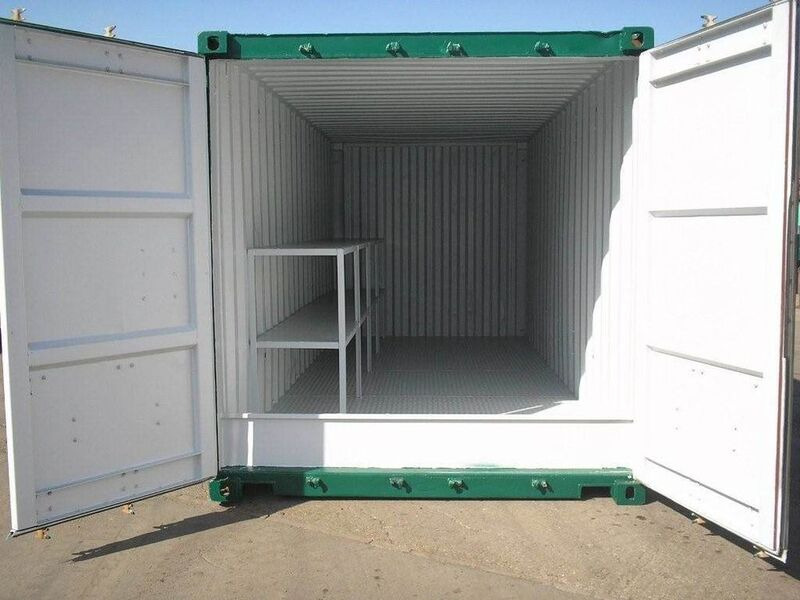 SHIPPING CONTAINERS 20ft once used Kite K20 click to zoom image