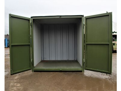 SHIPPING CONTAINERS 6ft S1 doors HL6S109 click to zoom image
