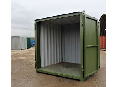 SHIPPING CONTAINERS 6ft S1 doors HL6S102 click to zoom image
