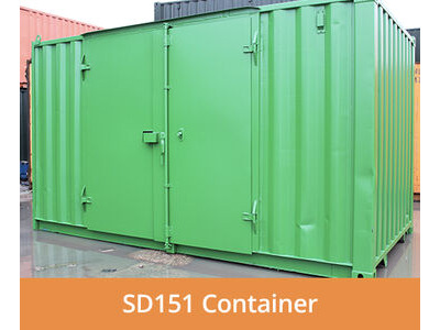 SHIPPING CONTAINERS 15ft side access SD151