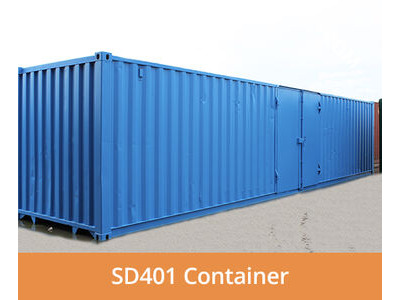 SHIPPING CONTAINERS 40ft side access SD401
