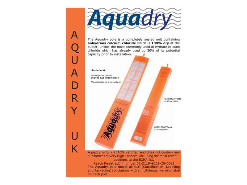 SHIPPING CONTAINERS Aquadry absorption pole click to zoom image