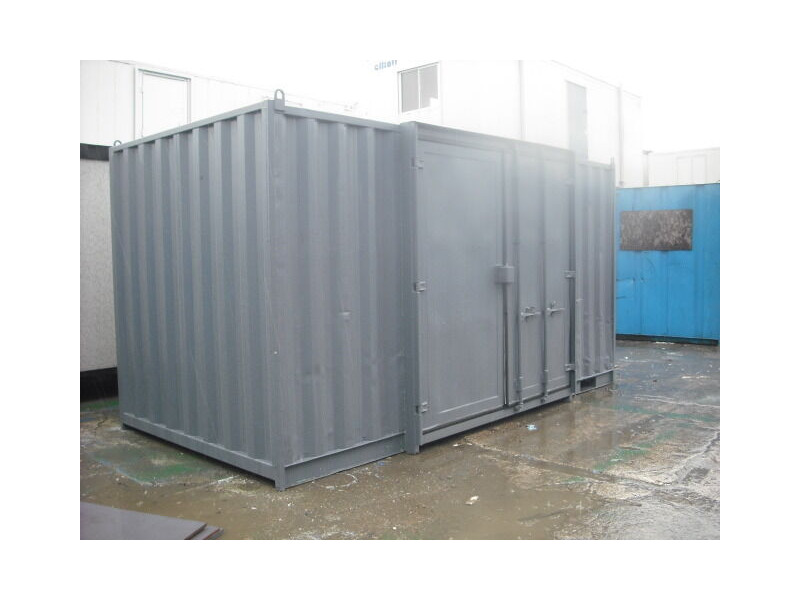SHIPPING CONTAINERS 16FT SIDE DOOR S3 click to zoom image