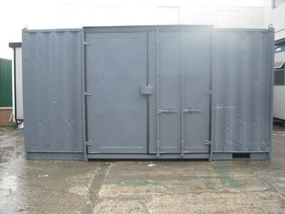SHIPPING CONTAINERS 15FT SIDE DOOR S3