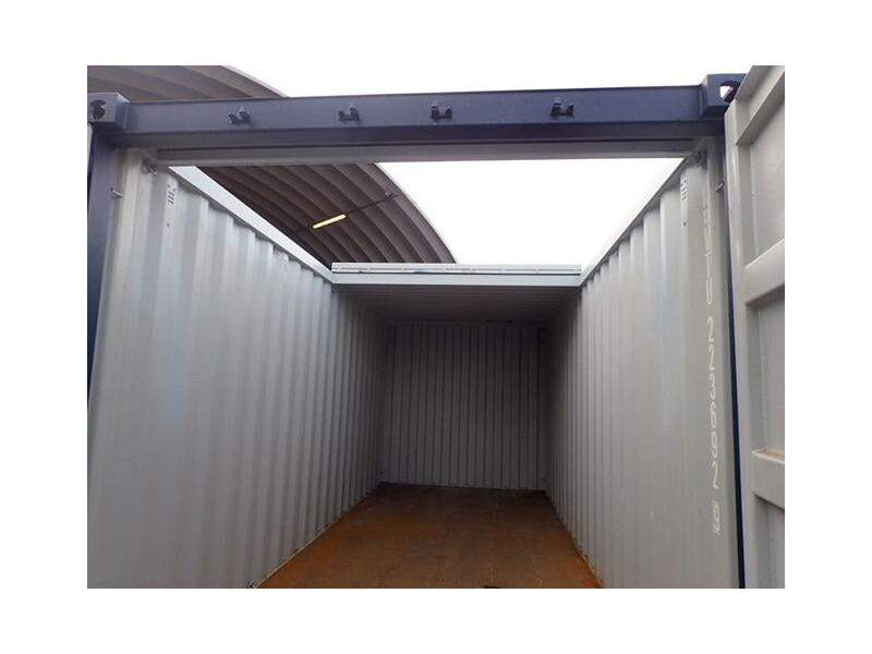 SHIPPING CONTAINERS Used 20ft with sliding roof click to zoom image