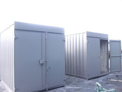 SHIPPING CONTAINERS 10ft HC Tunnel SC58