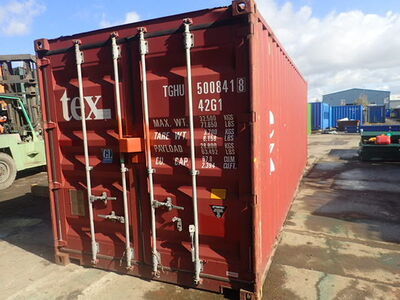 SHIPPING CONTAINERS 24ft original doors 67659