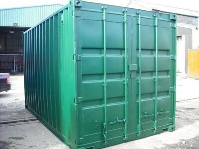 SHIPPING CONTAINERS 14ft S2 doors