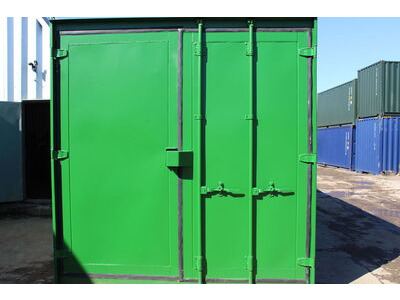 SHIPPING CONTAINERS 14ft S3 doors