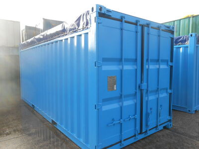 SHIPPING CONTAINERS 20ft Open-top container SC82