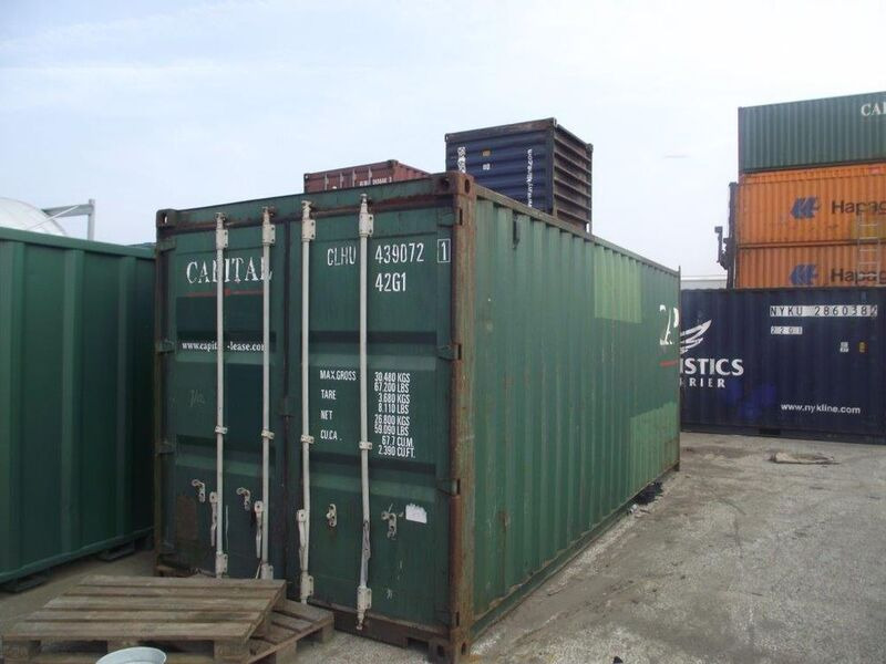 SHIPPING CONTAINERS 20ft Original doors 64971 click to zoom image