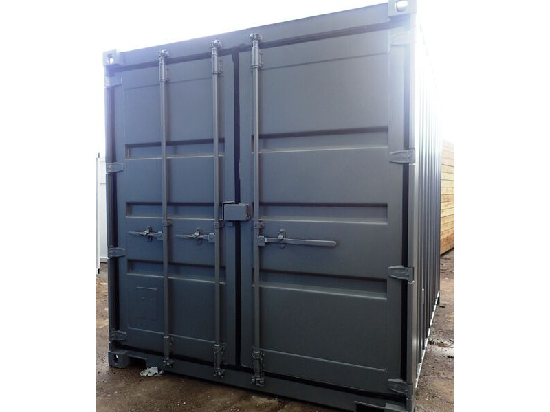 SHIPPING CONTAINERS 10ft S3 Doors & Grafotherm 15415 click to zoom image