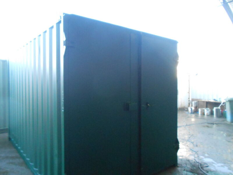 SHIPPING CONTAINERS 15ft S1 doors 65170 click to zoom image