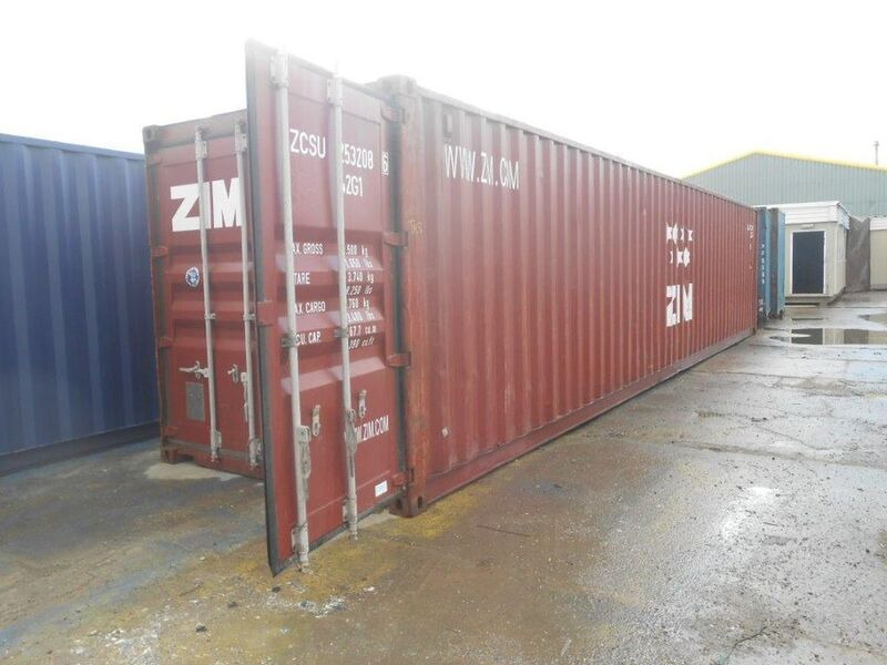SHIPPING CONTAINERS 40ft ISO 59524 click to zoom image