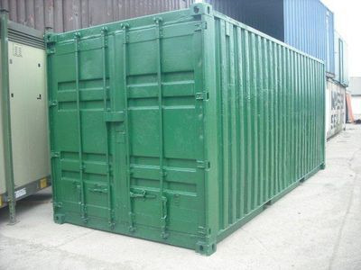 SHIPPING CONTAINERS 20ft S2 repainted 15934