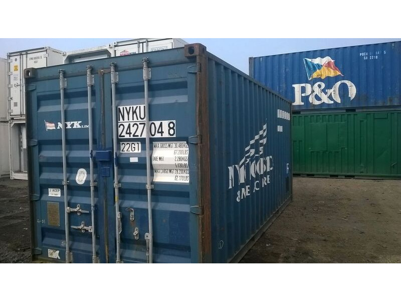 SHIPPING CONTAINERS 20ft original doors 12202 click to zoom image