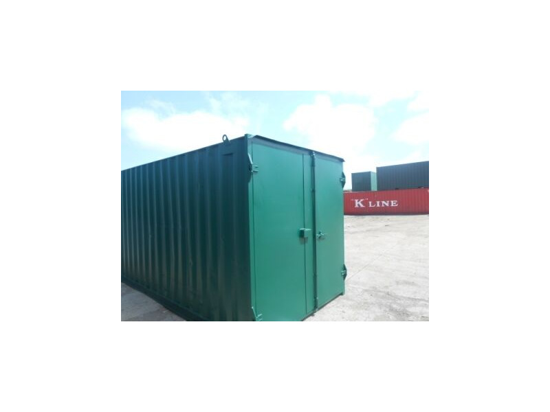 SHIPPING CONTAINERS 20ft S1 doors high cube 65641 click to zoom image