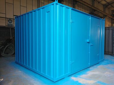 SHIPPING CONTAINERS 14ft x 11ft centre doors 15383 click to zoom image