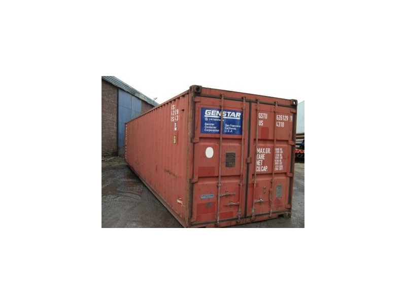 SHIPPING CONTAINERS 40ft original container 45299 click to zoom image