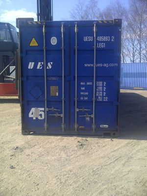 SHIPPING CONTAINERS 10ft high cube S2 doors 16093   £1870 ...