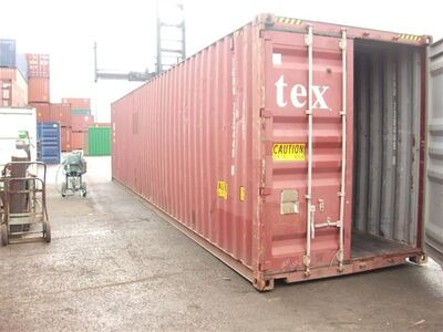 Second Hand 30ft Shipping Containers 30ft - S2 Doors