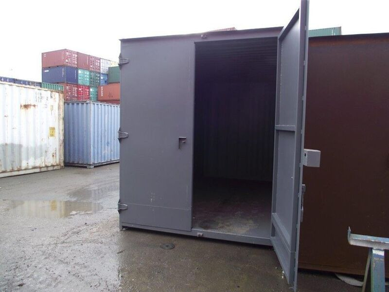SHIPPING CONTAINERS 16ft high cube S1 doors click to zoom image