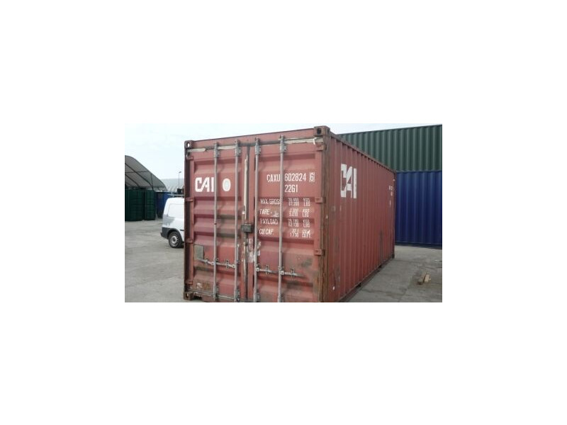 SHIPPING CONTAINERS 20ft ISO container 15829 click to zoom image