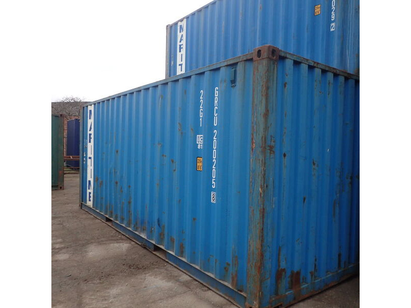 SHIPPING CONTAINERS 20ft original 42837 click to zoom image